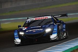 Motegi Super GT: Real Honda pair dominate fraught race