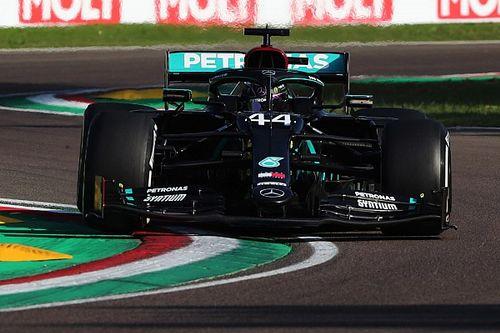 F1: Hamilton domina Imola, Mercedes campione!