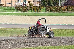 Las fotos del viernes del GP de F1 en Imola... sin coches en pista