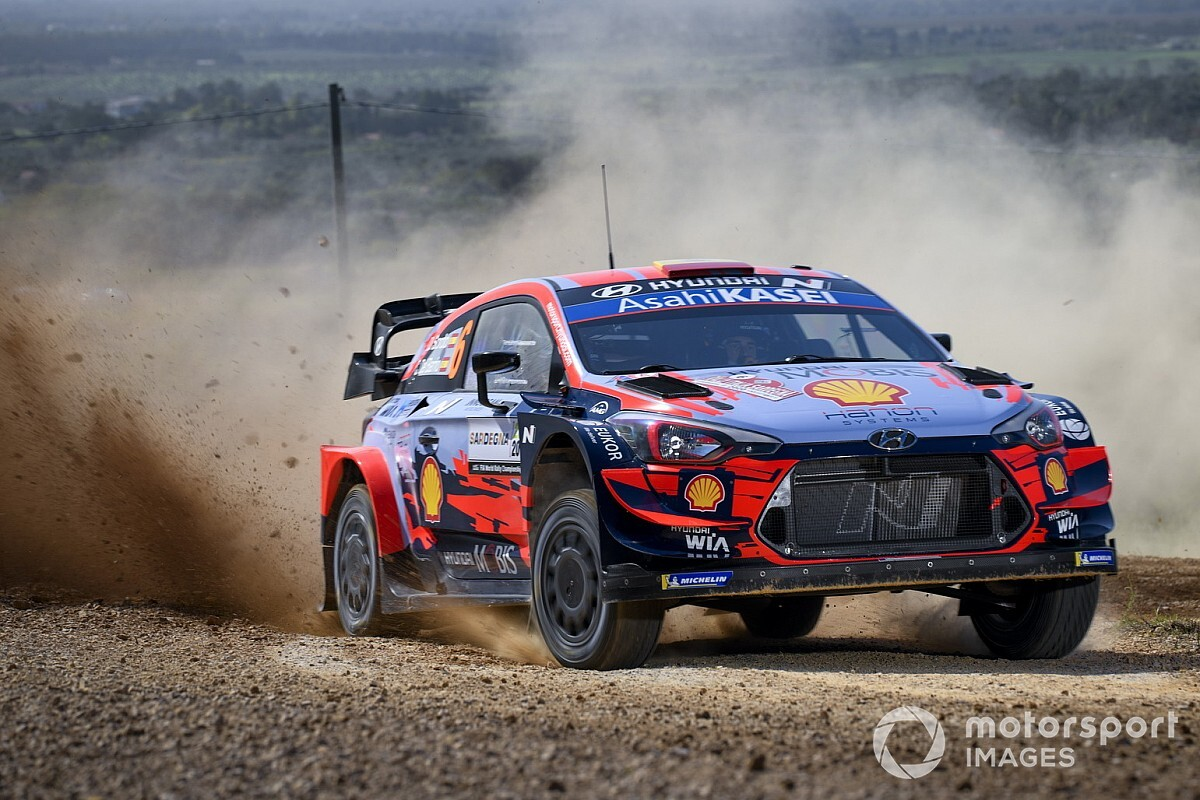 WRC: Sordo trionfa ancora al Rally Italia Sardegna. 1-2 Hyundai