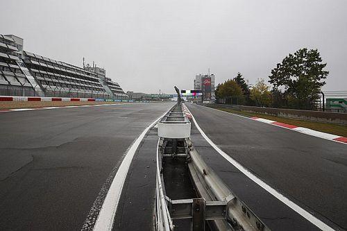 Eifel GP 1. antrenman seansı 1 saat ertelendi!