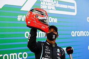 Fotogallery F1: Hamilton vince all'Eifel ed entra nella leggenda!
