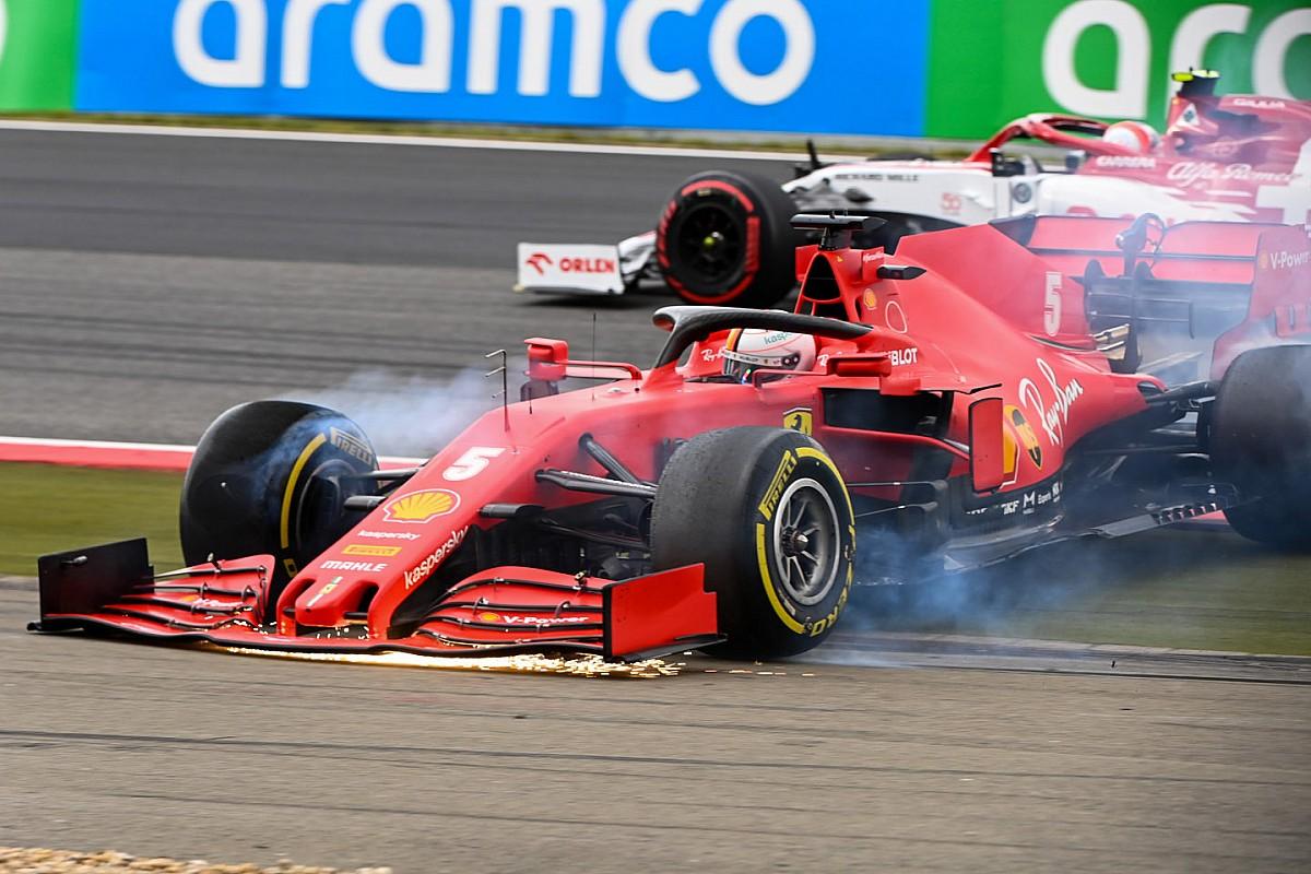 "Vettel admits he took ""too much risk"" at Eifel GP"