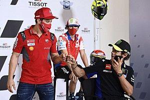 Dovizioso dan Rossi Sepakat soal Kehebatan Suzuki