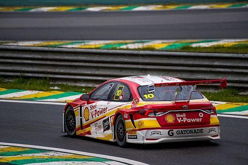 Shell vai mais uma vez ao pódio com Ricardo Zonta, que lidera Stock Car