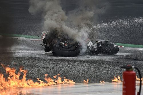 MotoGP: Lorenzo Savadori sofreu fratura no tornozelo em acidente com Pedrosa