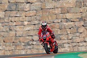 Miller lidera segunda práctica en Aragón ante caída de Márquez