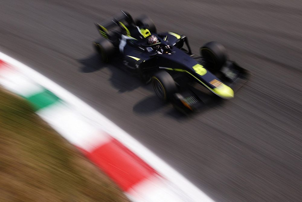 Monza F2: Ticktum tops practice ahead of Pourchaire