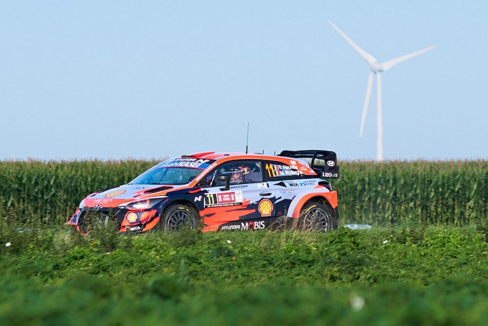 WRC, Rally Ypres, PS14: Neuville risponde a Breen e alle Toyota
