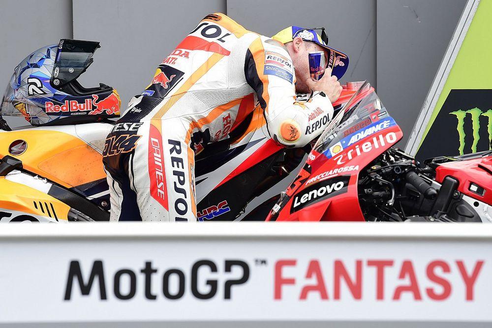 Las fotos de la vibrante lucha por la pole de MotoGP en Silverstone