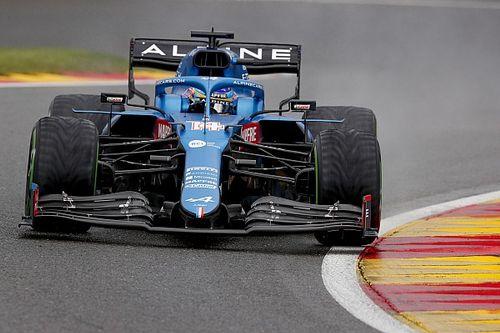 """Alonso: """"Para un fin de semana que vamos bien en seco..."""""""