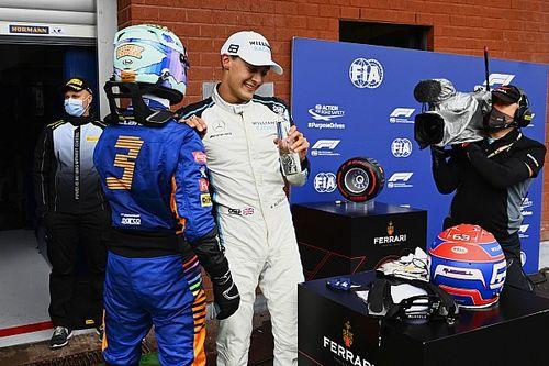 """F1: Ricciardo """"não sabia se ficava feliz"""" com quarto lugar e compara com resultado de Russell"""