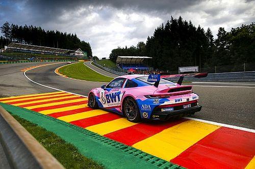 Porsche Supercup: Pereira si impone sul bagnato a Spa