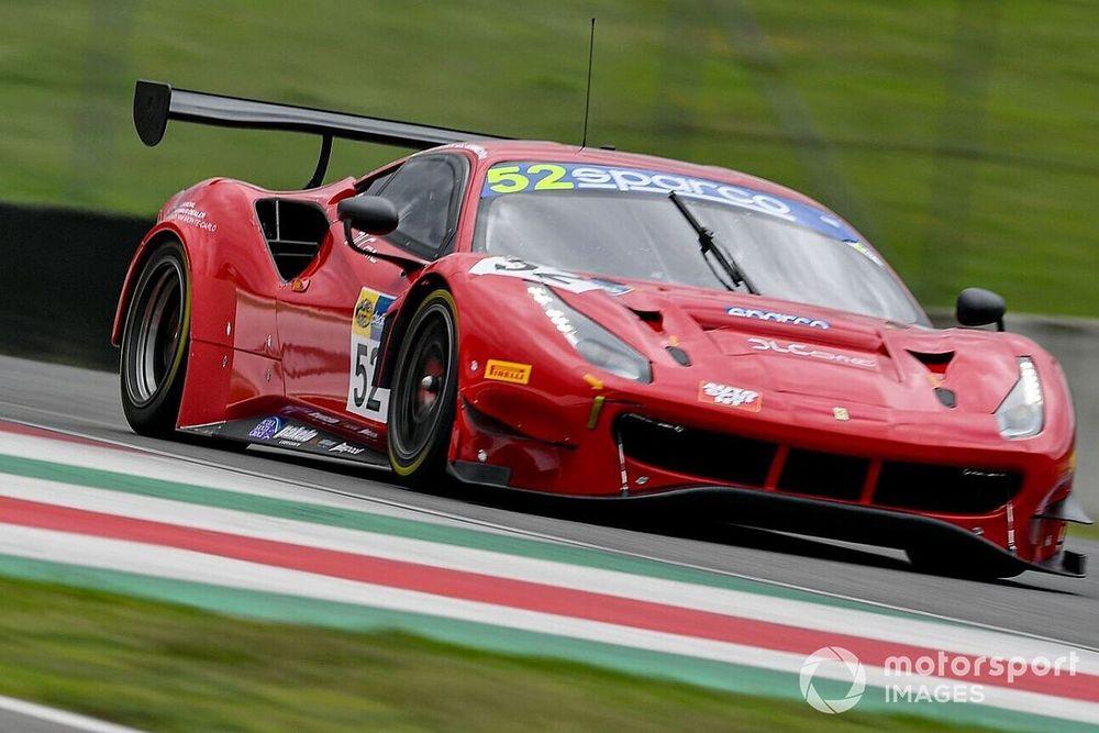 GT Sprint, Mugello, Libere 2: zampata della Ferrari-AF Corse #52