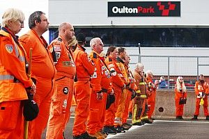 TOCA supports in action as national motorsport mourns loss of marshal