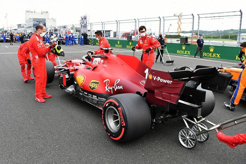 ¿Dónde estarán las actualizaciones del motor Ferrari?