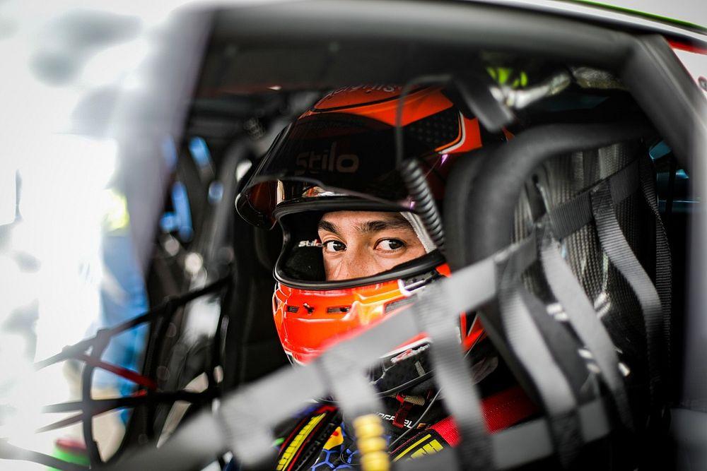 Aitken sustained fractures in Spa 24 Hours crash