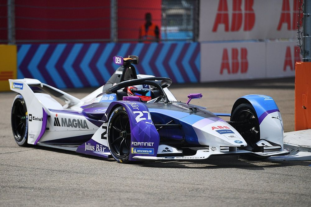 Berlin E-Prix: BMW's Dennis remains on top in second practice
