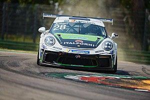 Carrera Cup Italia, Imola: Amati nella tripletta Dinamic in gara 1!
