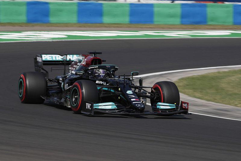 Hamilton 'optimistic' about Mercedes' Hungary F1 chances after FP2