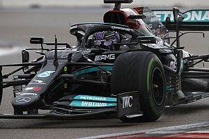 Hasil F1 GP Rusia: Lewis Hamilton Cetak Rekor Kemenangan ke-100