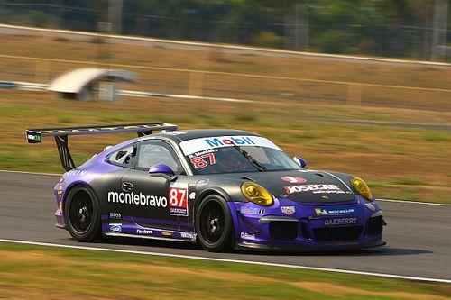 Porsche GT3 Cup: Nelson Monteiro voa e consegue pole em Goiânia