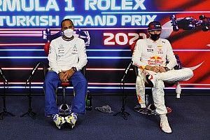 F1: Veja papo 'bizarro' entre Hamilton, Bottas e Verstappen após classificação na Turquia