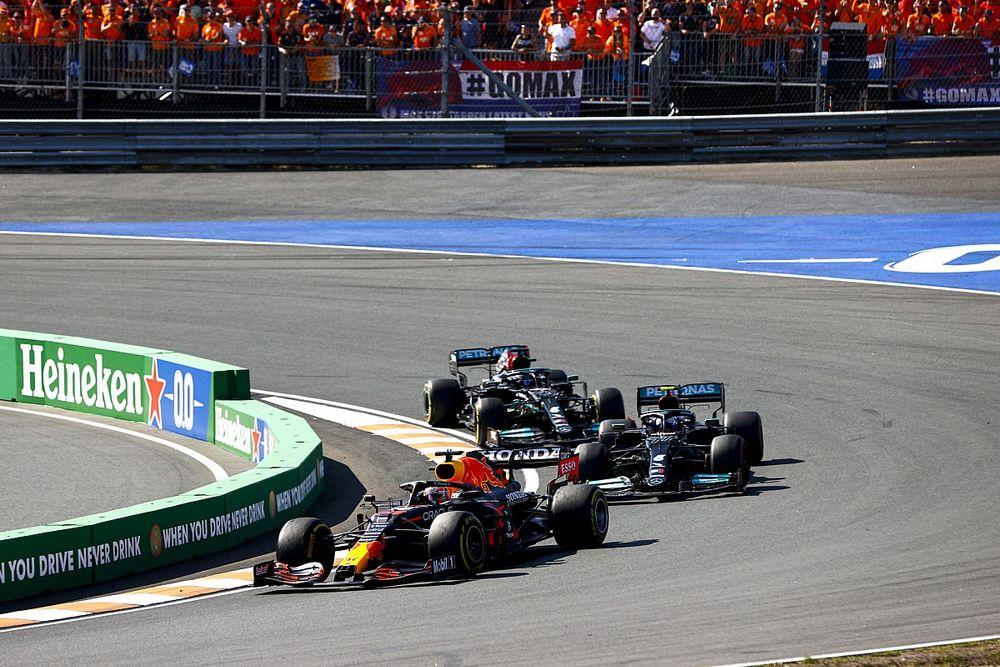 F1: Horner acredita que diferença entre Red Bull e Mercedes é de 0s1
