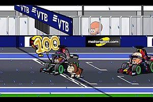Vídeo: así vivieron los MiniDrivers la locura del GP de Rusia