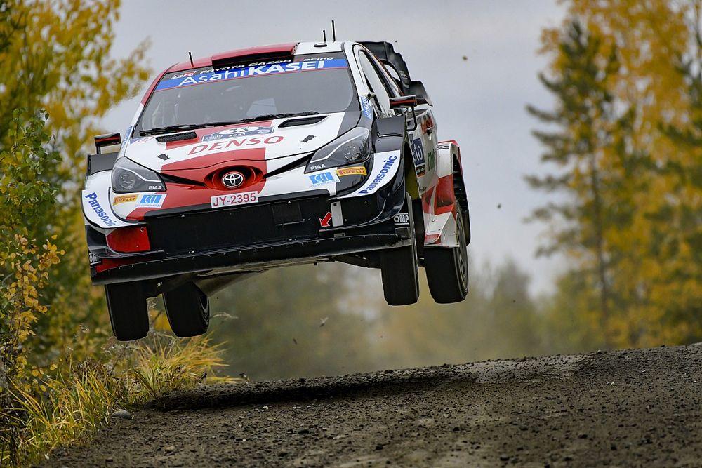 WRC Finland: Evans fends off charging Tanak, Neuville retires