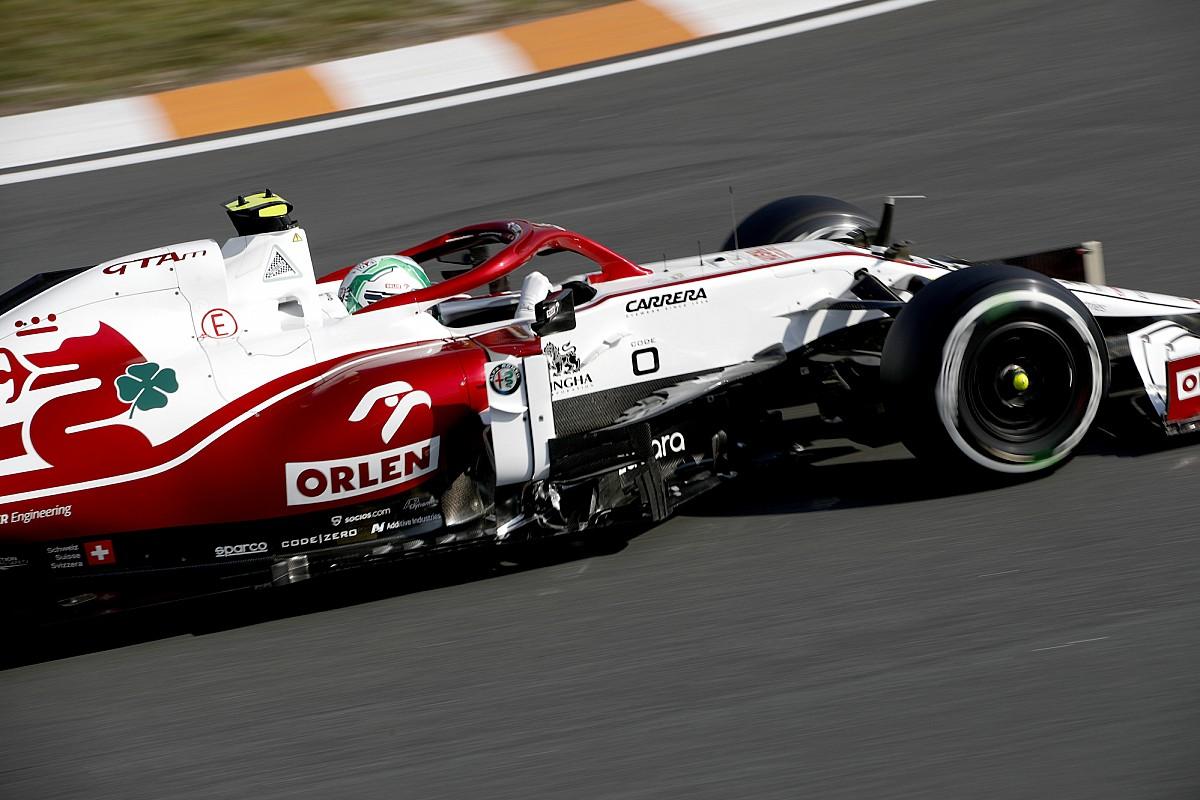 Laatste Formule1 Nieuws Antonio Giovinazzi