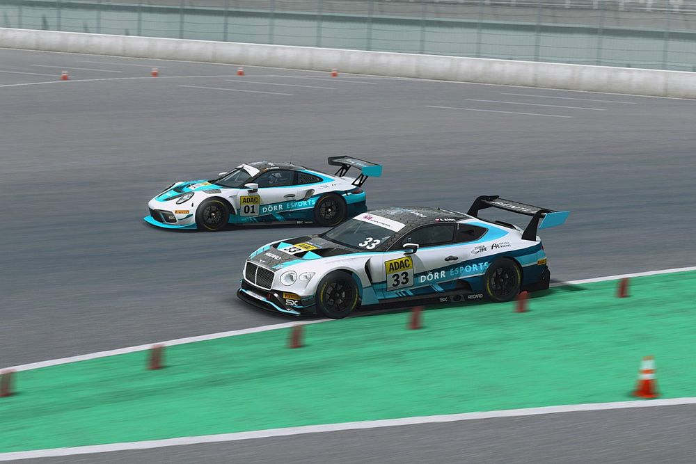 Price and Banki enjoy victories in ADAC GT Masters Esports Championship