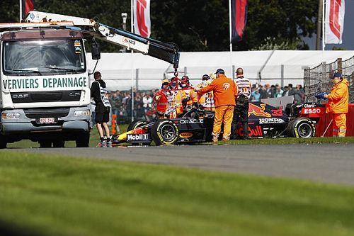 Verstappen lidera la segunda práctica en Bélgica; Pérez en top 10