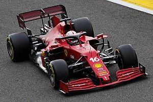 Leclerc instala nuevo chasis luego de accidente en la FP2
