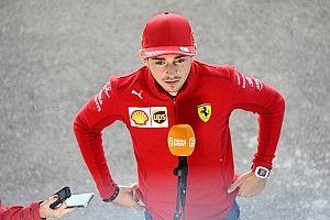 """Leclerc: """"Alla Ferrari l'asfalto ancora scivoloso andrebbe bene"""""""