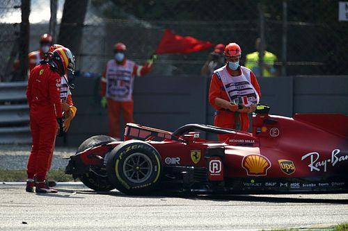 Kecelakaan Ketiga dalam Empat Balapan Terakhir Carlos Sainz