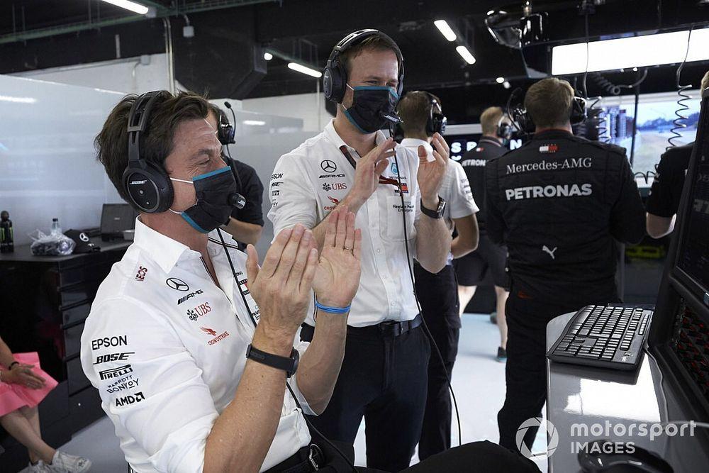 """Wolff: """"Hamilton, İspanya'da yine kendi sınıfındaydı"""""""