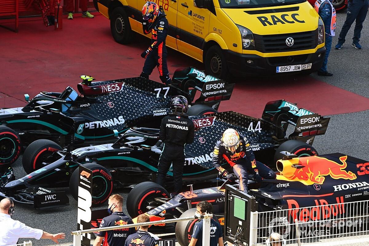 Las mejores fotos del sábado del GP de España de F1 2020