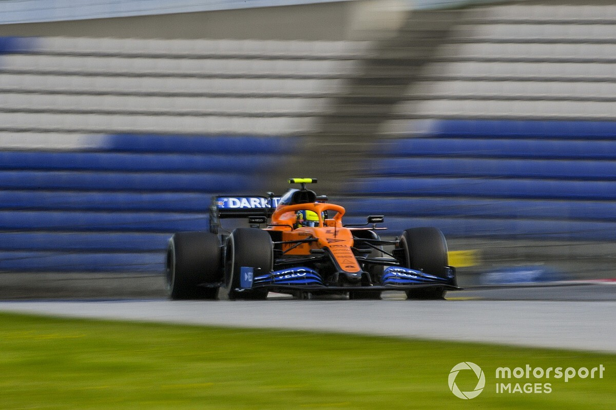 Norris: Fan-less GPs feel like Formula Renault races