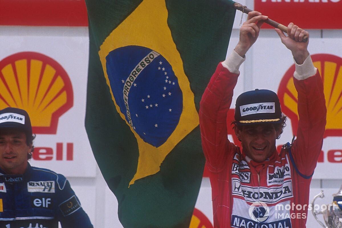 Emocionado, Galvão anuncia reprise do GP do Brasil de 1991 na Globo