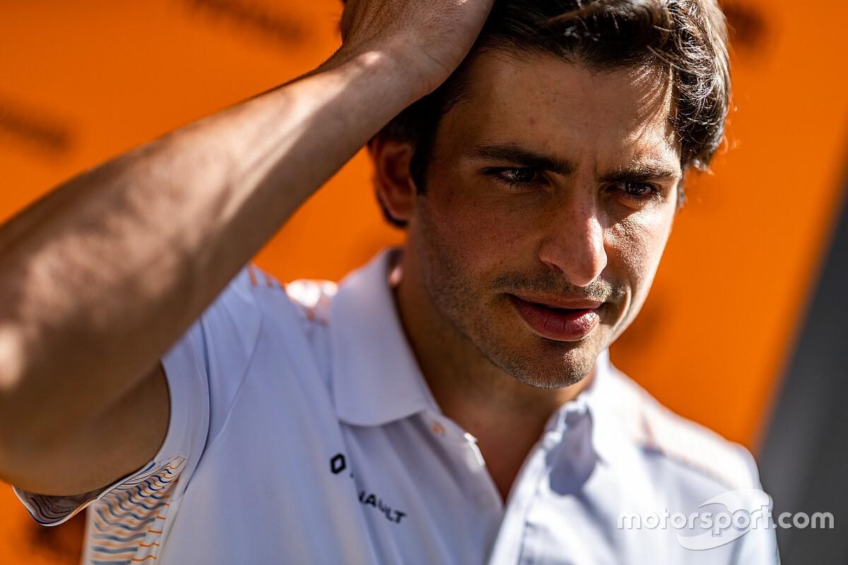 """Sainz enfocado """"100% en McLaren"""" en 2020 antes de irse a Ferrari"""