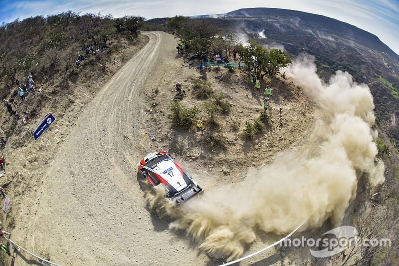 Ogier concluye un viernes recortado en México en la cima