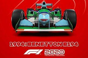 Nagy élmény lehet Michael Schumacher legendás autóit vezetni az F1 2020-ban