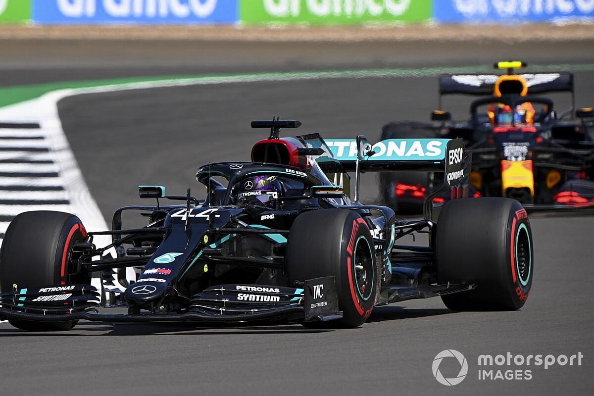 F1イギリスGP予選速報:王者ハミルトン、驚愕の速さでPP。フェルスタッペン3番手