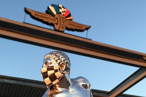 """El """"hombrecito"""" del Trofeo Borg-Warner lleva un cubrebocas"""