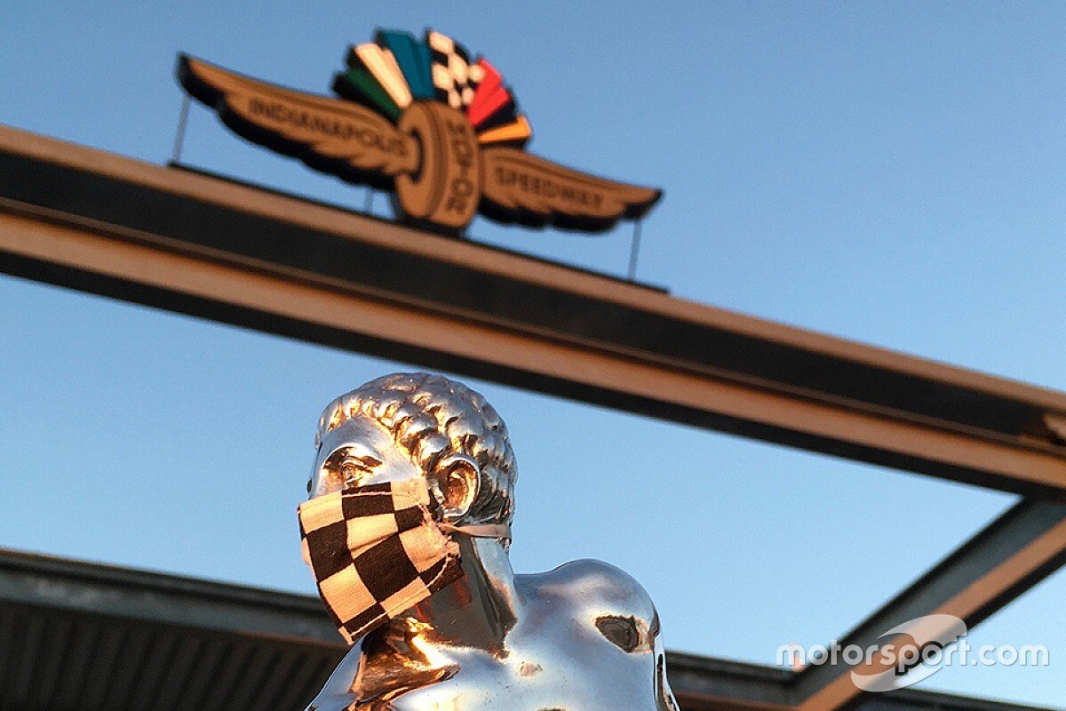 """Borg-Warner Trophy's """"little man"""" reflects sign of the times"""
