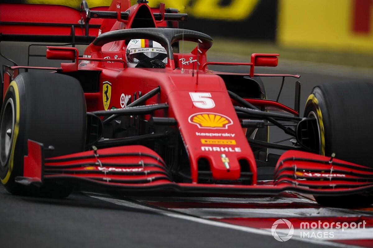 """Vettel: """"Macaristan'da biraz daha iyi görünüyoruz"""""""