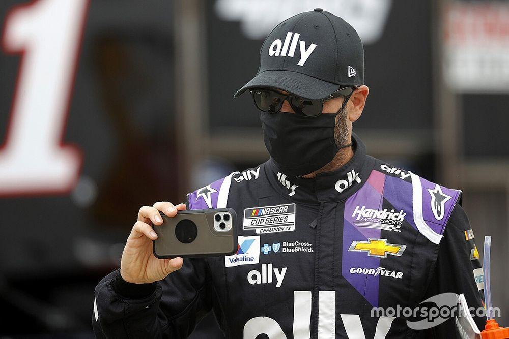 """Johnson: Chevy """"understanding"""" about IndyCar test in a Honda car"""