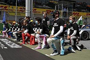 GALERÍA: Pilotos de F1 se arrodillaron por apoyo contra el racismo