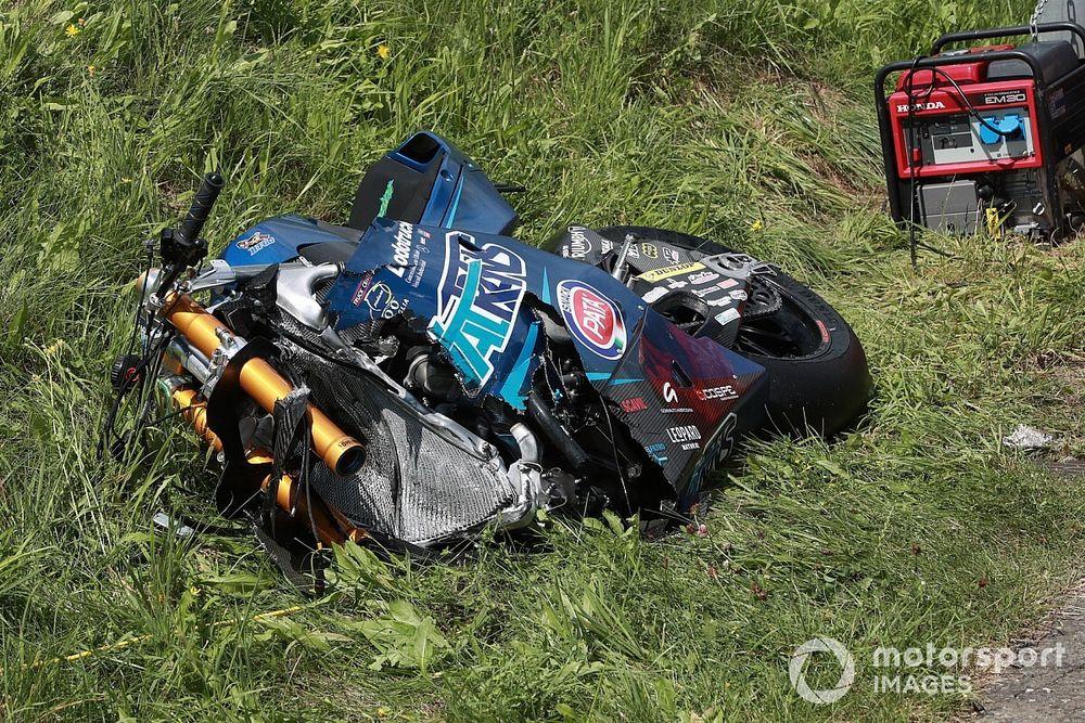 Moto2 Spielberg: Schrötter-Podium wird von schwerem Sturz überschattet